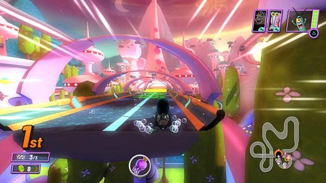 Racing on Nickelodeon Kart Racers 2 Grand Prix, Image Sophie Brown