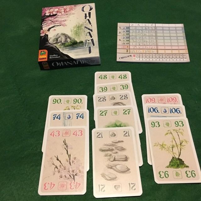 Ohanami tabletop game