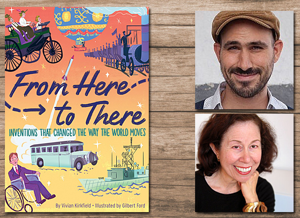 From Here to There Cover Image, HMH Books for Young Readers