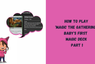 How to play Magic the Gathering: Baby's First Magic Deck