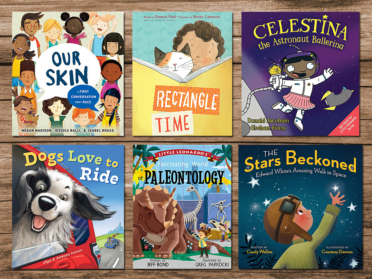 Picture Books for Feb 2021, Cover Images as Below