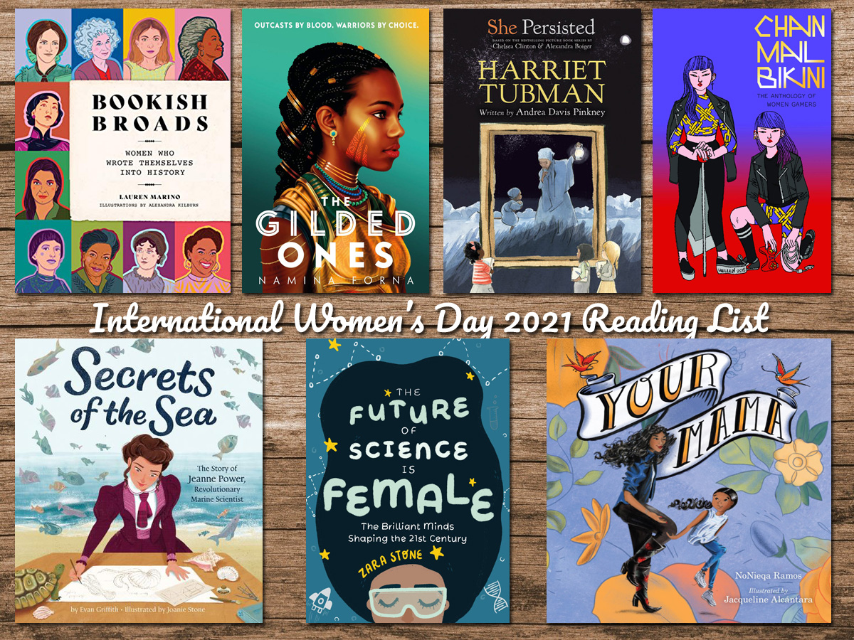 International Women's Day 2021 Reading List, Image Sophie Brown