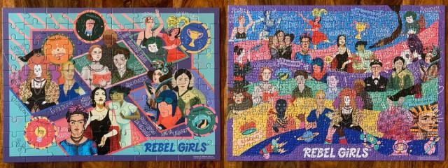 Rebel Girls Puzzles, Images Sophie Brown