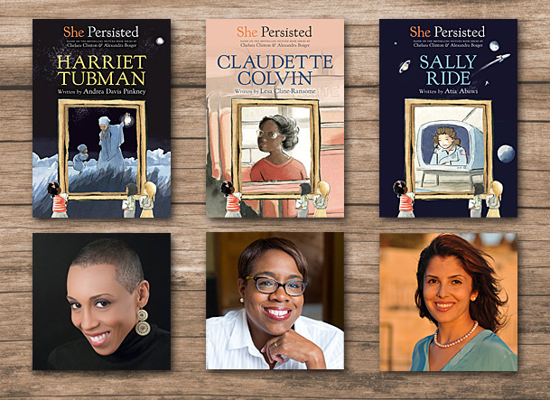 She Persisted Series Cover Images, Philomel Books