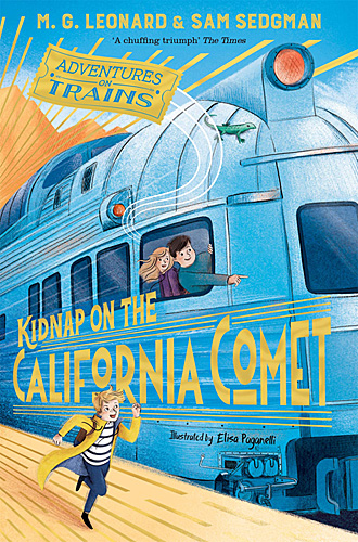 Adventures on Trains: Kidnap on the California Comet, Image Pan Macmillan