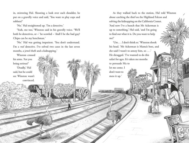 Murder on the Safari Star Illustration, Image Pan Macmillan