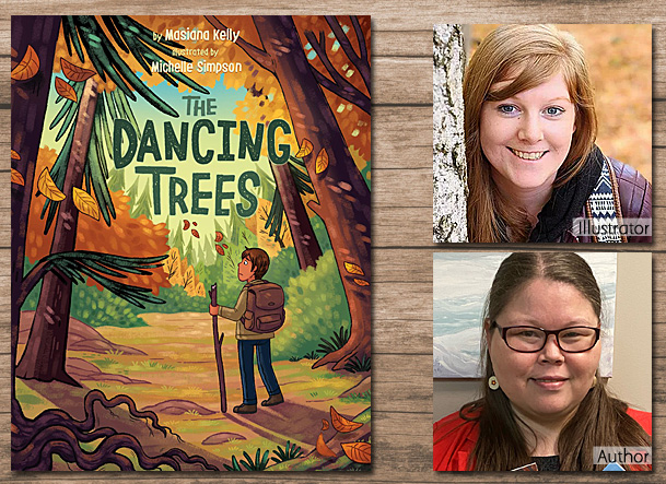 The Dancing Trees Cover Image, Inhabit Media