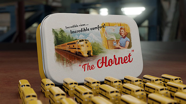 The Hornet, Image The Little Plastic Train Company