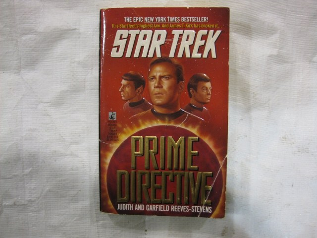 Book cover of Star Trek: Prime Directive