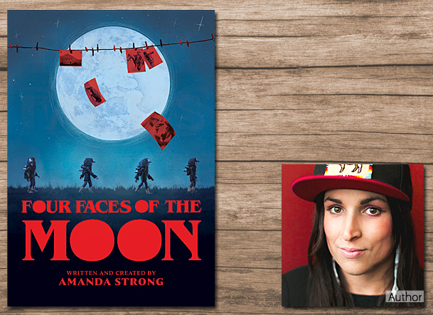 Four Faces of the Moon, Image Annick Press
