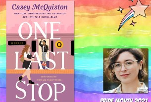 Pride Month - One Last Stop by Casey McQuiston