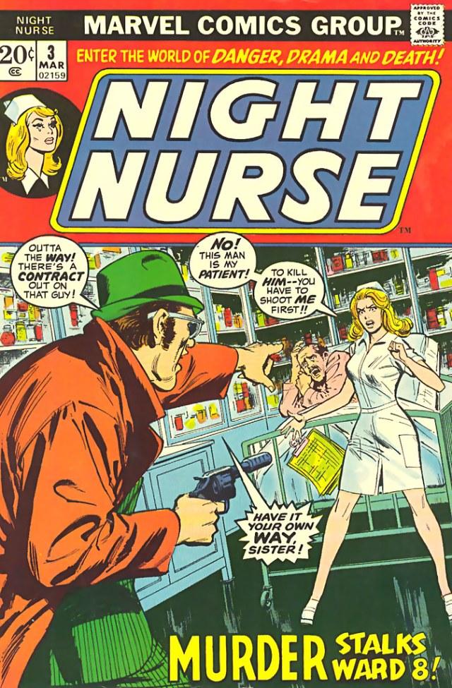 Cover of Night Nurse (Marvel)