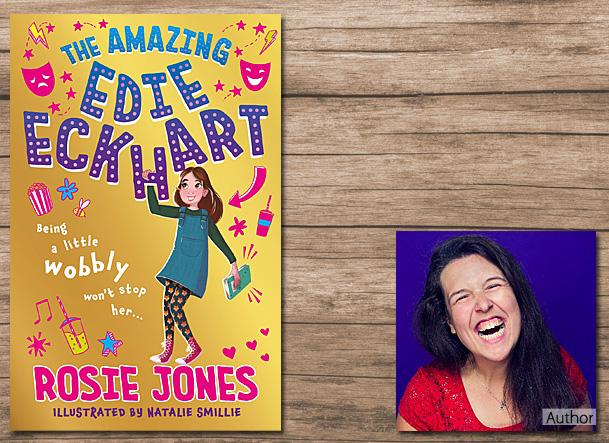 The Amazing Edie Eckhart Cover Image, Hodder Children's Books