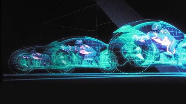 TRON Light Bikes original movie