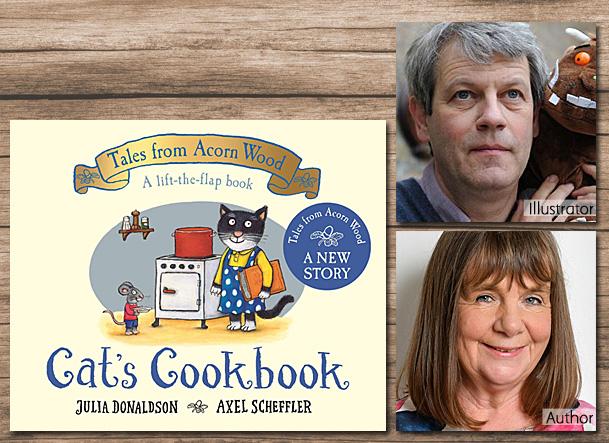 Cat's Cookbook, Cover Image Macmillan Childrens