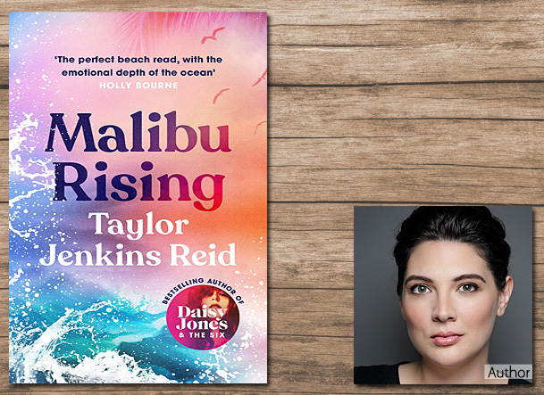 Malibu Rising, Cover Image - Hutchinson