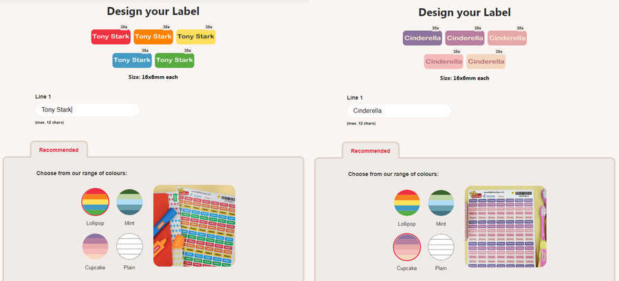 Ministickers, Screenshots: Sophie Brown