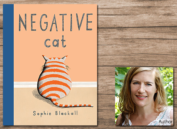 Negative Cat, Cover Image Nancy Paulsen Books