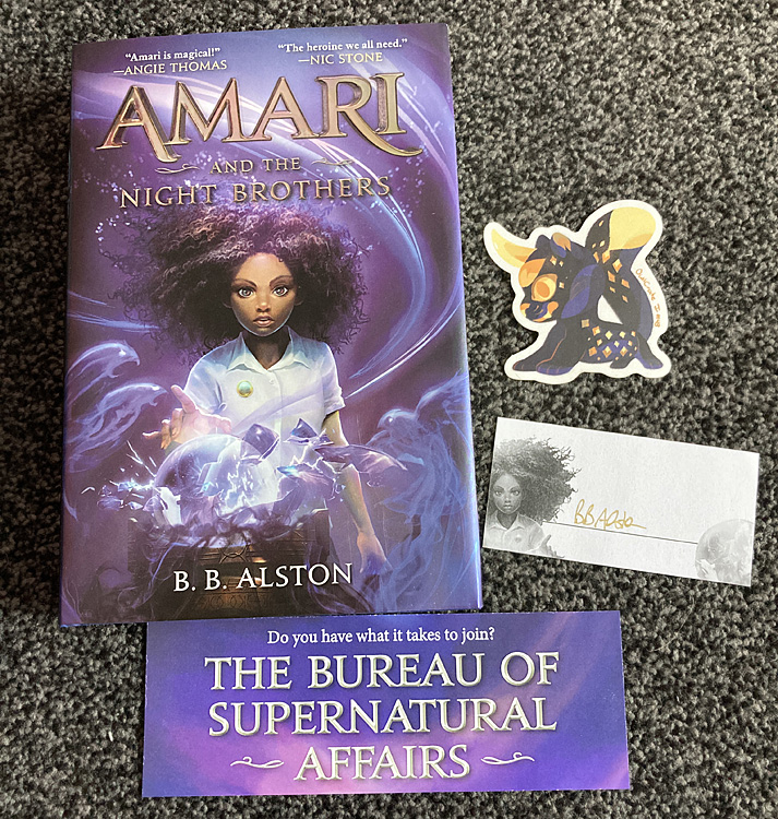 Amari and the Night Brothers Items, Image Sophie Brown