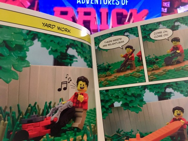 Sample from The Thrilling Adventures of Brick Dad by Henry Pinto and Cade Franklin