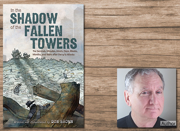 In the Shadow of the Fallen Towers Cover Image, Clarion Books