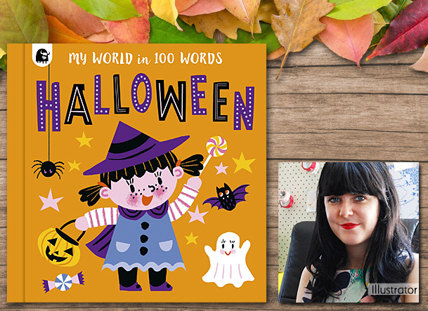Halloween My World in 100 Words Cover Image, Quarto