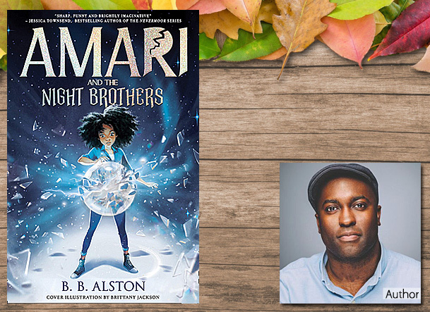 Amari and the Night Brothers Cover Image, Farshore