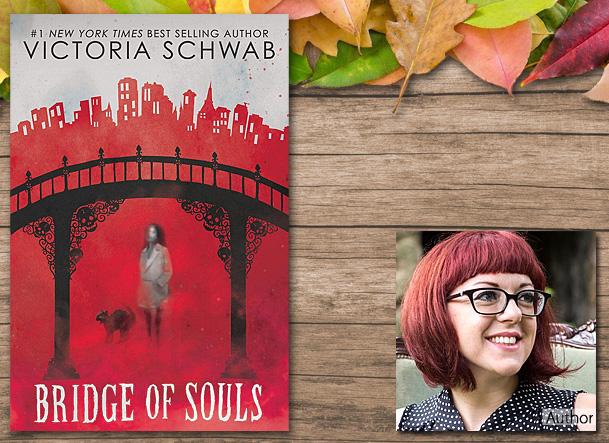 Bridge of Souls Cover Image, Scholastic