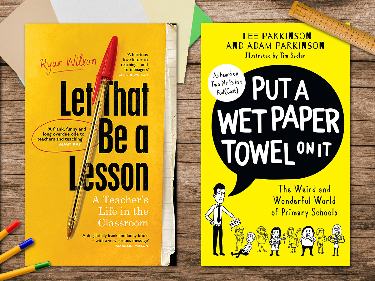 Teacher Authored Books About School, Image Sophie Brown