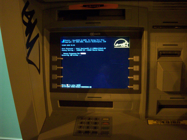 How to hack an ATM machine