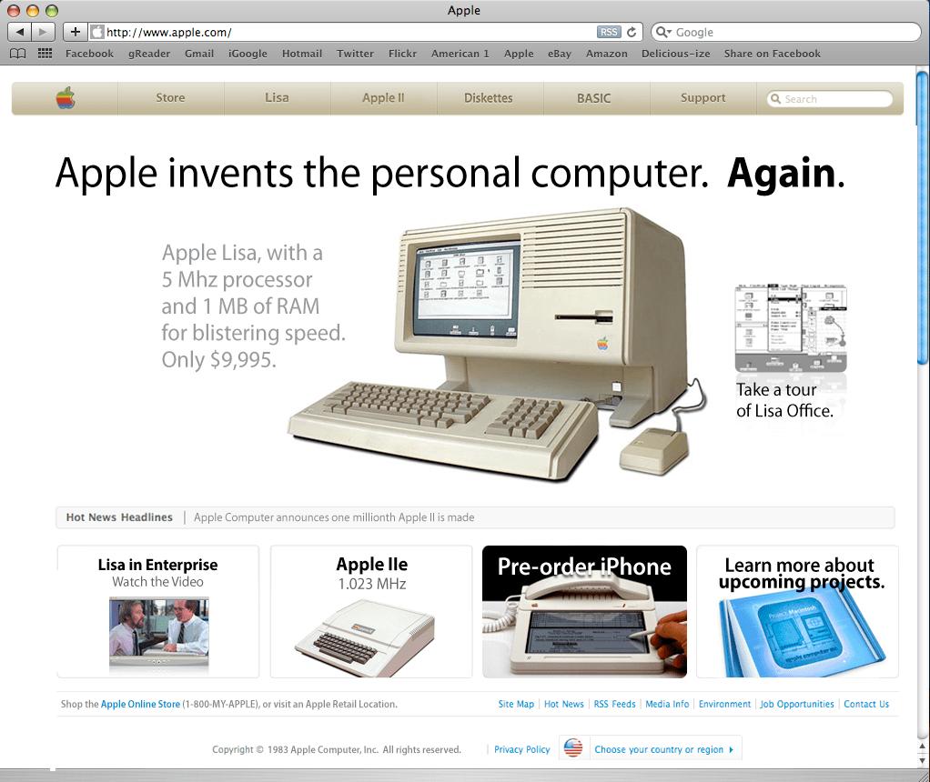 Apple.com, 1983