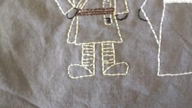 Star Wars: Luke Skywalker and Princess Leia Free Hand Embroidery Pattern
