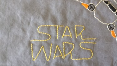Star Wars: Free Embroidery Pattern