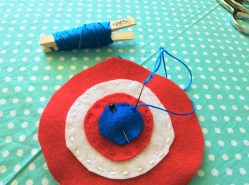 Captain America Beanbag Tutorial