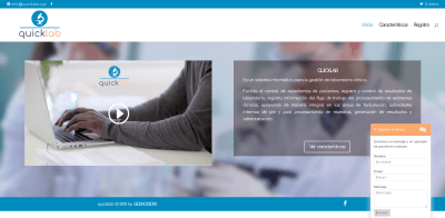 Quicklab-website