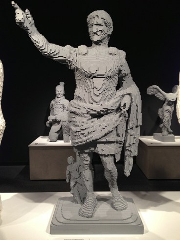 Augustus of Prima Porta in Legos