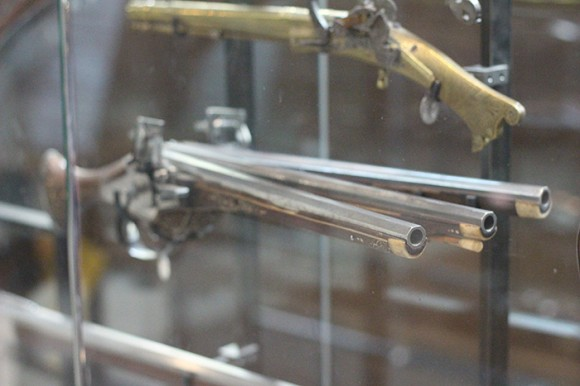 Some of the old guns have really interesting designs