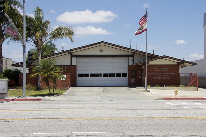 Robert A. Cinader Station, Number 127, in Carson, California.