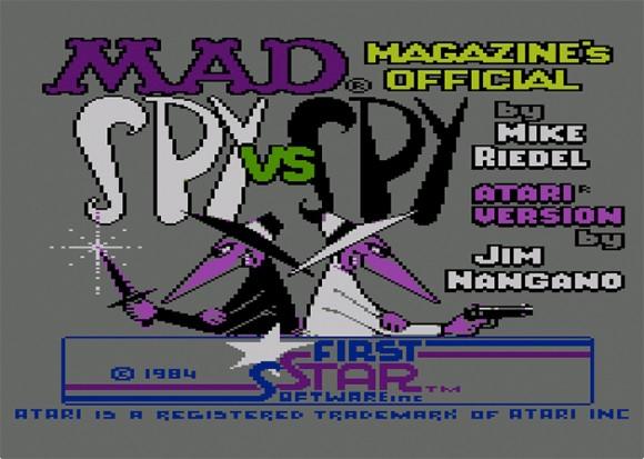 Spy vs. Spy title screen
