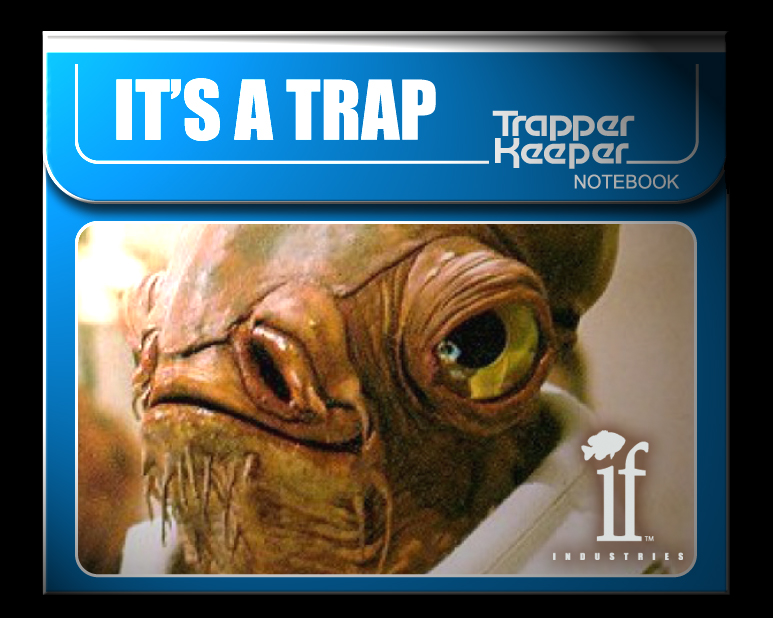 It's a TrapperKeeper!
