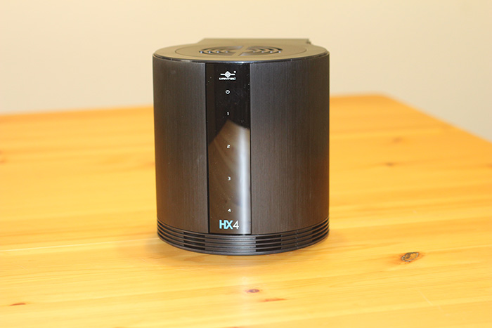 Vantec HX4 4-bay JOBD USB 3.0 enclosure