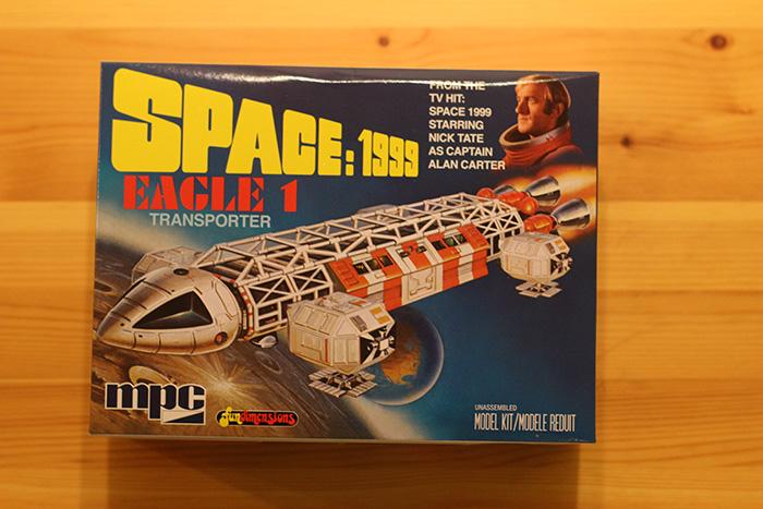 MPC's Space 1999 Eagle Transporter plastic model kit