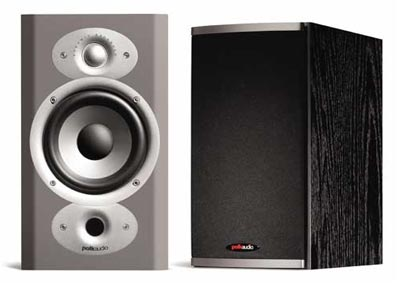 Polk Audio RTi4 bookshelf speakers.