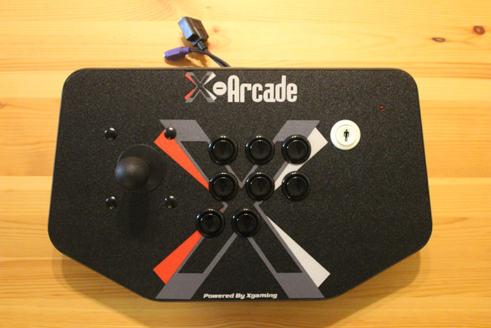 X-Arcade Solo, top view