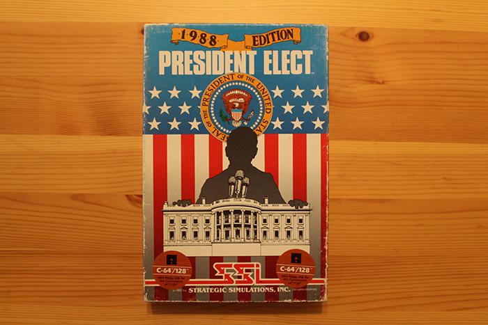 President Elect - 1988 Edition box, Strategic Simulations, Inc., 1987.