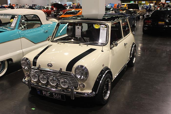 1969 Morris Mini Cooper, 1275cc, 4-speed.