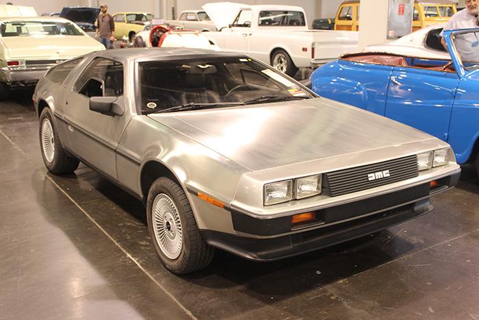 1981 DeLorean DMC-12, 5-speed.