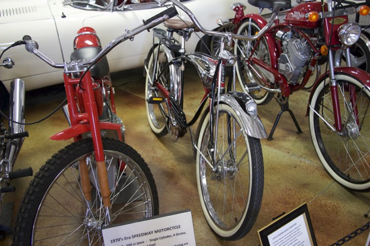 As a kid, I would have wanted that space-age looking Schwinn.
