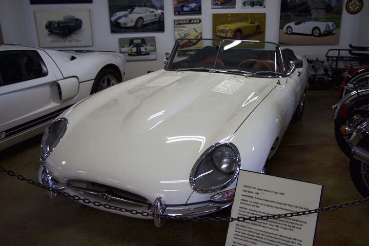 The Jaguar Series 2 E-Type, or XKE.