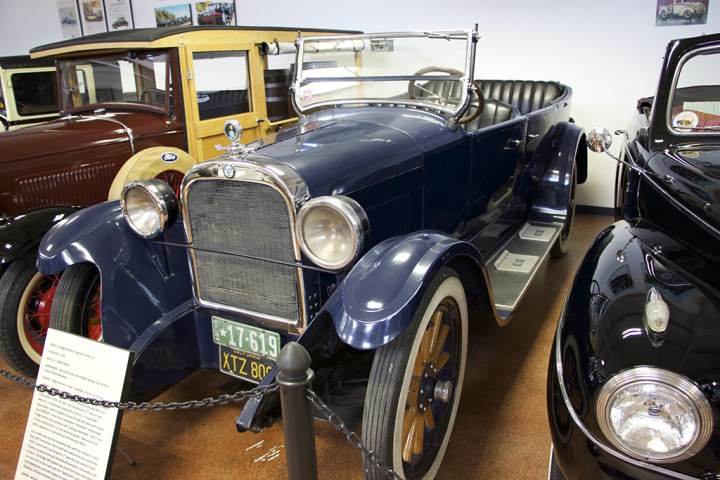 The 1925 Dodge Brothers Touring Car.